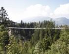 ...zur längsten Hängebrücke Europas