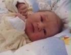 Das erste Bild von Alessia. Geboren am 13. März 2010 mit 2900gr und 48 cm.