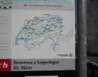 Mit dem Zug gings nach Saignelégier