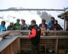 Auch die letzte Skibar musste noch besucht werden