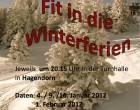 Fit für die Winterferien im Januar 2012