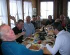 Mittagessen in der Schwarzenegg
