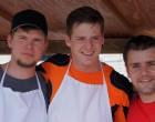 Laubi, Flücki und Marc