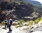 Abstieg, 500 Höhenmeter bis zur Hängebrücke