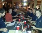 Zum Abendessen gab es Mongolisches Buffet.