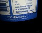 Man beachte auch den Wein der Hess Family