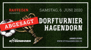 ABGESAGT: Dorfturnier Hagendorn 2020